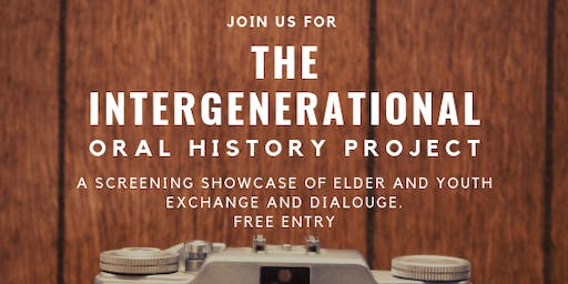 InterGenerational Oral History Project Screen