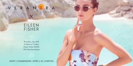 Veranera Swimwear x Eileen Fisher exclusive trunk show event! tickets