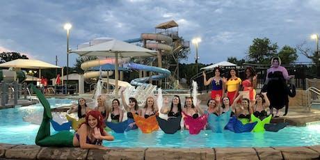 Springdale/August 3, 2019 End of Summer Mermaid Pool Party 479.595.6700 entradas