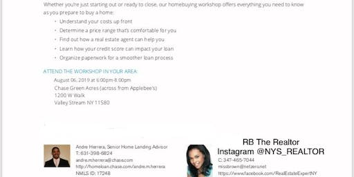 1st Time Homebuyer Workshop - Presented By RB The Realtor & Chase Bank