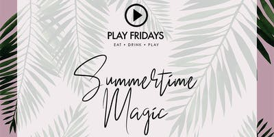 All New PLAY FRIDAYS @Savvor Lounge 10p-2a