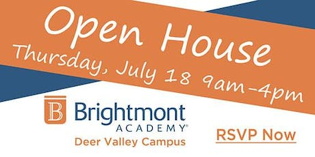 Brightmont Academy - Deer Valley Open House tickets