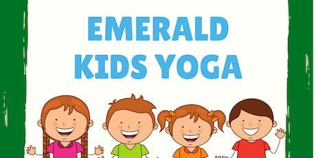 Kids Yoga at Emerald tickets
