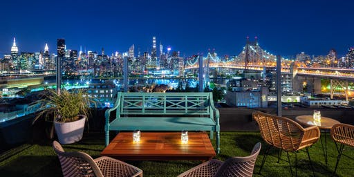 """COCKTAILS ON THE WATER! @ THE NEW """"SAVANNA ROOFTOP"""" - NYC SKYLINE & WATER VIEWS + HAPPY HOUR SPECIALS"""