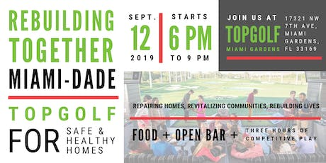 Topgolf to Support Safe and Healthy Housing! tickets