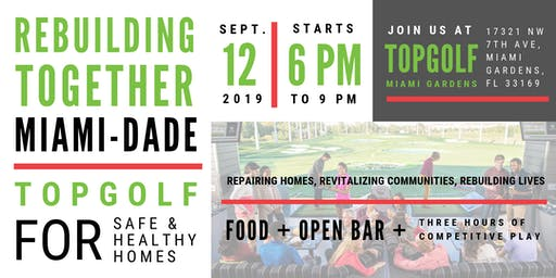 Topgolf to Support Safe and Healthy Housing!