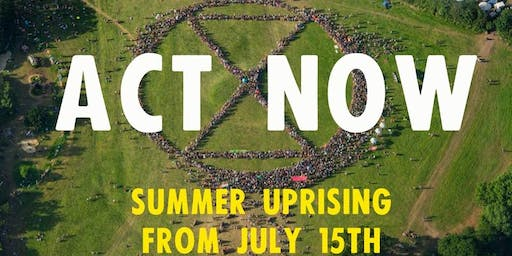 XR Coach Tickets To Cardiff Summer Uprising - NOTE SINGLE TICKETS BOTH WAYS -  SUNDAY 14th JULY AND THURSDAY 18th JULY