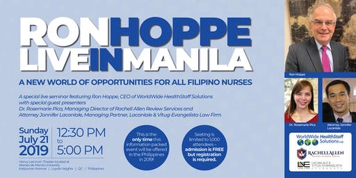 A New World of Opportunities for All Filipino Nurses