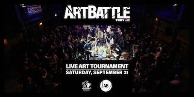 Art Battle Troy - September 21, 2019