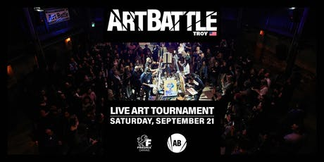 Art Battle Troy - September 21, 2019 tickets
