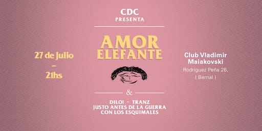 CDC Presenta: Amor Elefante en Quilmes