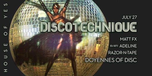 Discotechnique: DIVAS