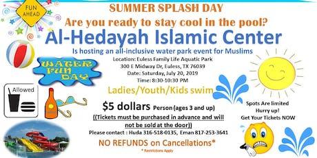 WATER SPLASH EVENT tickets