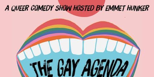 The Gay Agenda Pride Rendezvous Hosted by Emmet Hunker @ The North Door