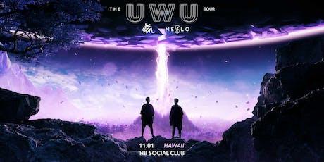 The UWU Tour: jstn & NESZLO at Hawaiian Brian's tickets
