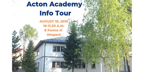 Acton Academy Info Tour tickets