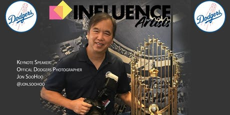 Influence Artists Photo Expo with Jon SooHoo, Official Dodgers Photographer tickets