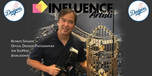 Influence Artists Photo Expo with Jon SooHoo, Official Dodgers Photographer