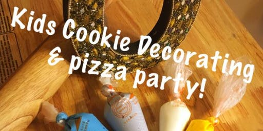 Cookie Decorating Pizza Party with Cookies by Mrs. O. Thomas