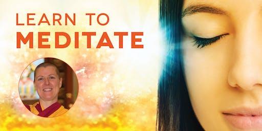 Learn to Meditate with Buddhist nun Kelsang Chogma