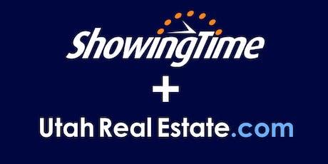 ShowingTime + UtahRealEstate.com tickets