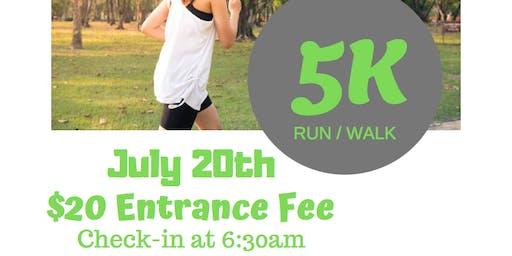 Camp 180 - 5K Run