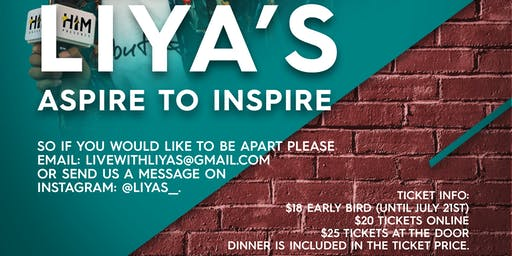 LIYA'S OPEN MIC NIGHT
