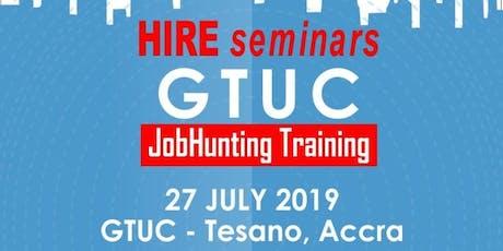 HIREghana's JobHunting Training tickets