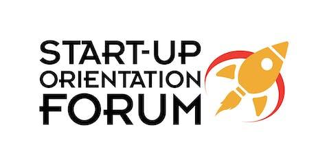 Start-up Orientation Forum tickets