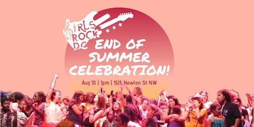 Girls Rock! DC End of Summer Celebration
