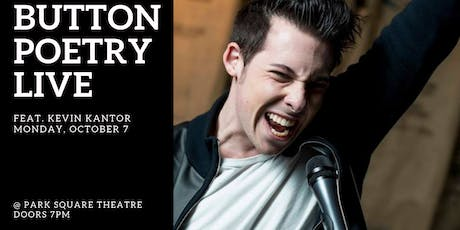 Button Poetry Live October: feat. Kevin Kantor! tickets
