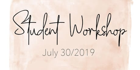 Student Workshop tickets