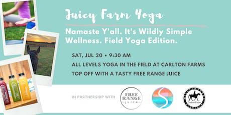 Juicy Farm Yoga tickets