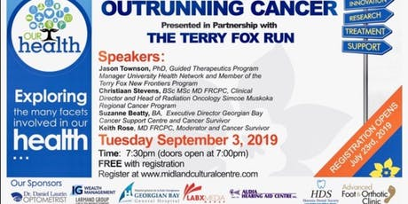 Our Health: Outrunning Cancer tickets