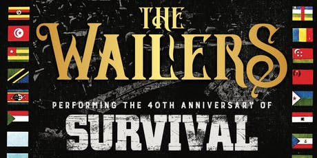 THE WAILERS with special guest tickets