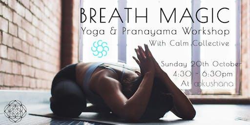 Breath Magic (Yoga & Pranayama Workshop)