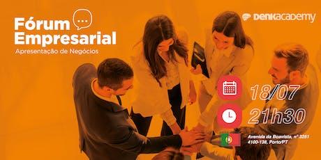 Fórum de Negócios Portugal bilhetes