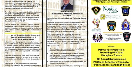 PATHWAYS TO PROTECTION: Preventing PTSD and Workplace Trauma tickets