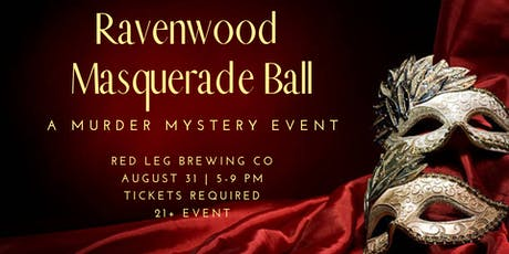 Masquerade Ball Murder Mystery tickets