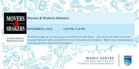 Mawji Centre Movers and Shakers Networking Event Presented by Oilersnation and Oodle Noodle tickets