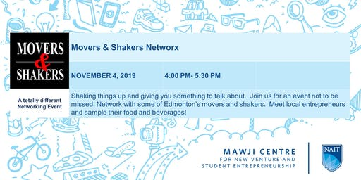 Mawji Centre Movers and Shakers Networking Event Presented by Oilersnation and Oodle Noodle