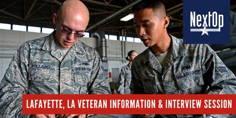 Veteran Information and Interview Session (Lafayette, LA) tickets