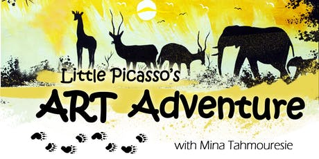 Little Picasso's ART Adventure with Mina Tahmouresie tickets