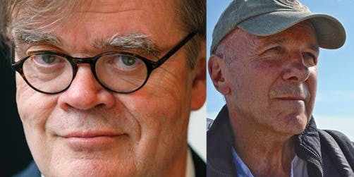 Garrison Keillor, in Conversation with Simon Winchester