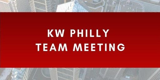 KW Philly Team Meeting
