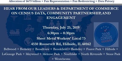 Proviso Township Census 2020 Complete Count Commission Informational