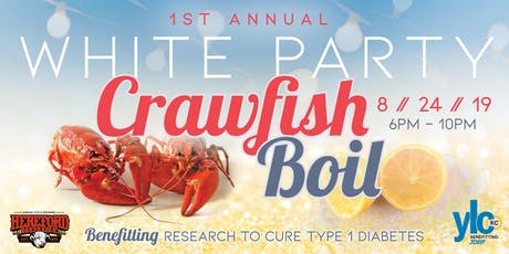 1st Annual White Party Crawfish Boil tickets