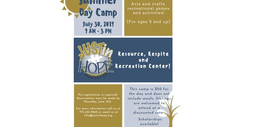 JUSTin Hope Summer Day Camp