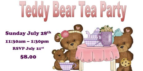 Teddy Bear Tea  tickets