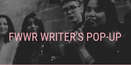 FWWR Writer's Pop-Up tickets